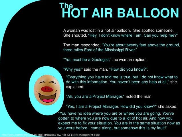 Balloon Puns