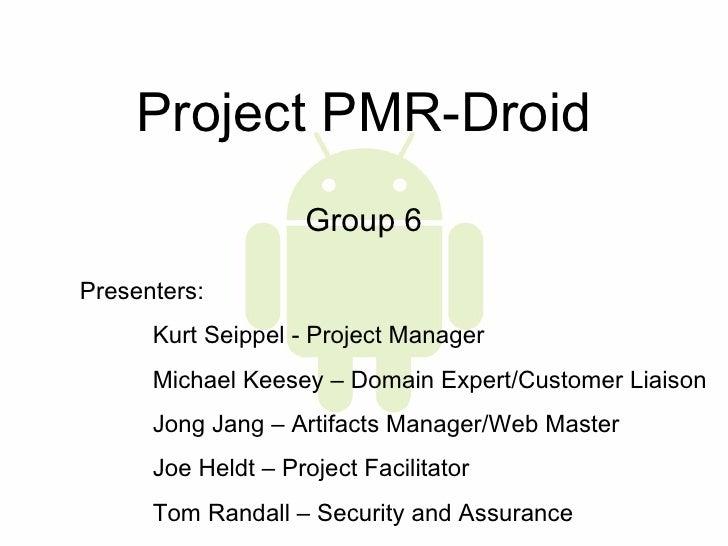 Pmr Droid PPT