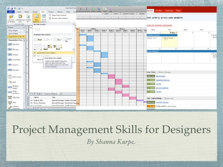 Project Management Skills for Designers