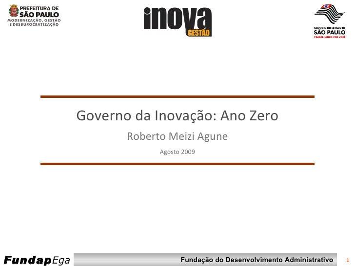 Pmsp Programa Inova GestãO 2009 Igov   Ano Zero Final   Imp