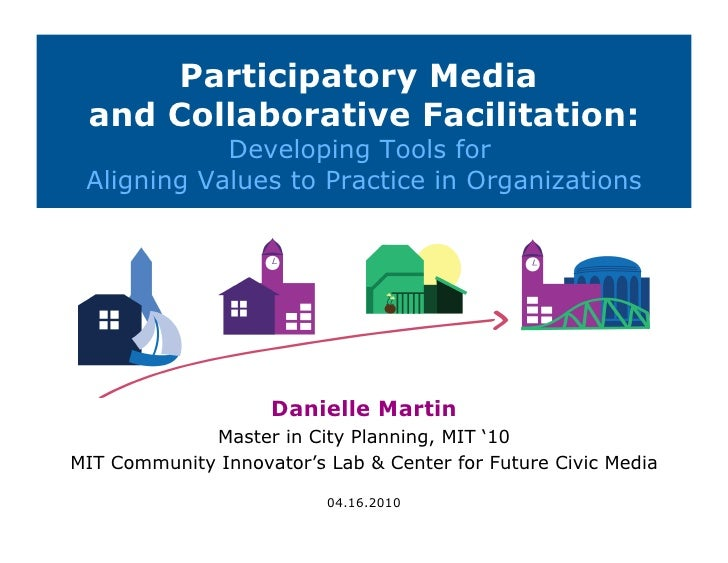 Participatory Media and Collaborative Facilitation: Developing Tools for Aligning Values to Practice in Organizations