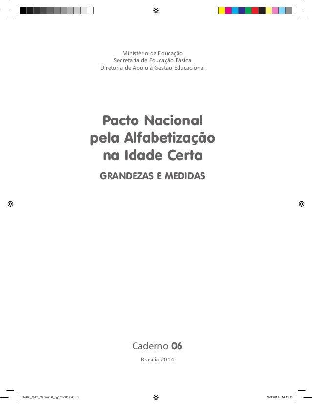 Pnaic mat caderno 6_GRANDEZAS E MEDIDAS