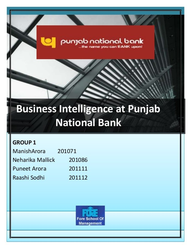 punjab national bank analysis Company review session on punjab national bank for ratio analysis on the companythis will be helpful to analyse the financials of the company and gibes benefi.