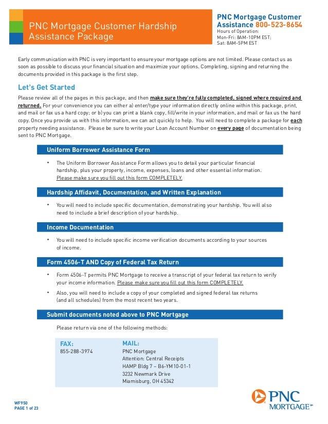Mortgage Assistance: Mortgage Assistance Hardship Affidavit