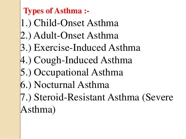 steroid resistant asthma what is clinical definition