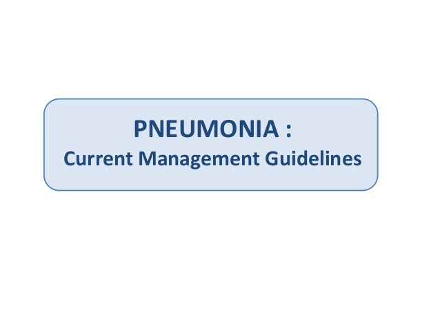 idsa pneumonia guidelines 2016 pdf