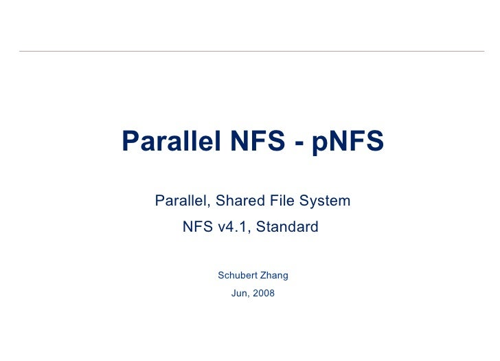 pNFS Introduction