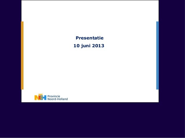 Presentatie10 juni 2013