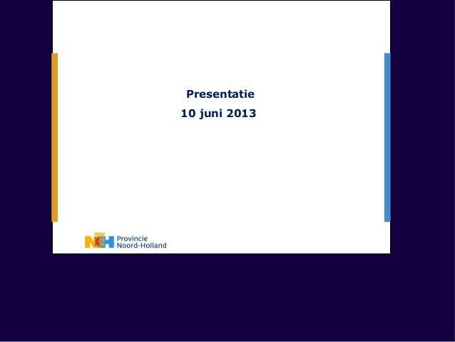 Pres PNH 10 juni 2013 voorb