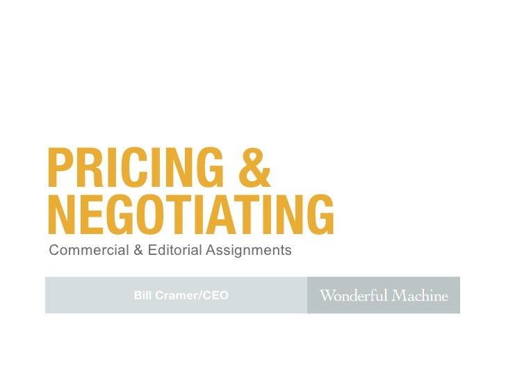 Pricing & Negotiating for Commercial Photographers | Phase One Chicago