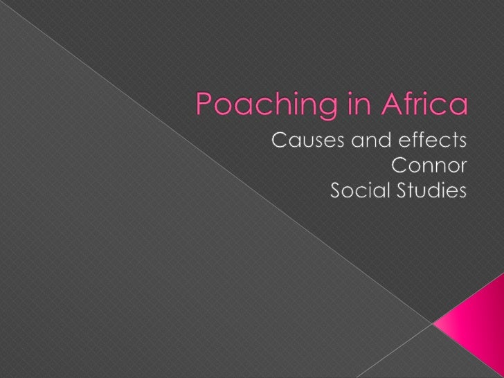 Poaching in Africa