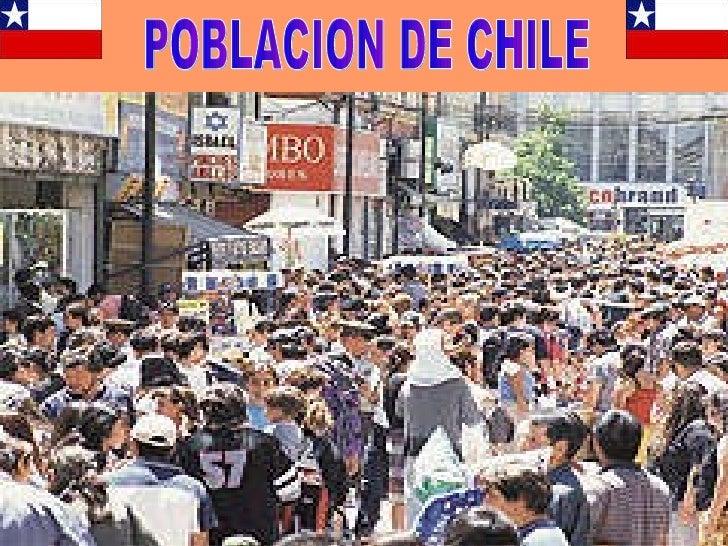POBLACION DE CHILE