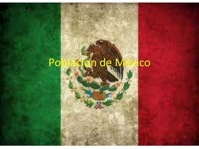 Poblacion de México