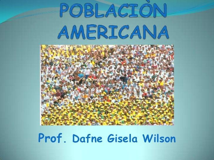 Poblacion En America.Pptx.Lnk