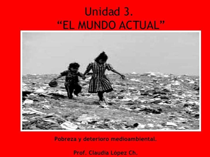 Pobreza Y Medio Ambiente1886