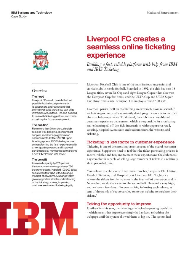 Liverpool FC creates a seamless online ticketing experience