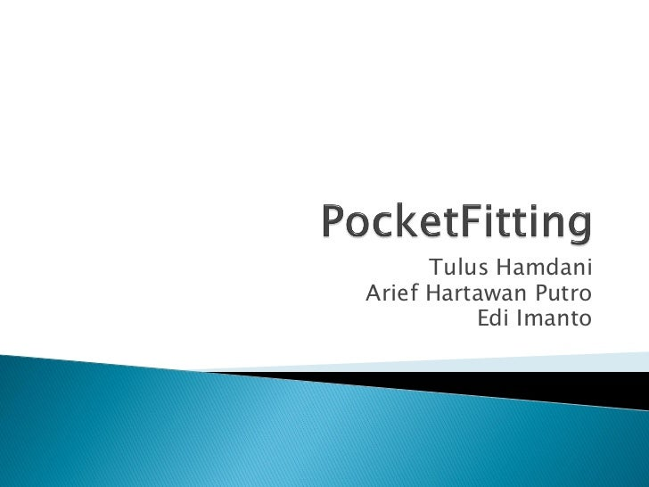 Pocketfitting