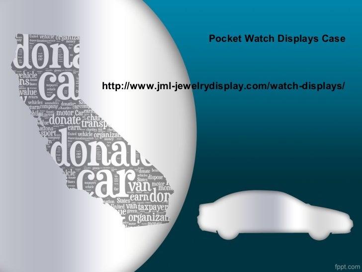 Pocket watch displays case