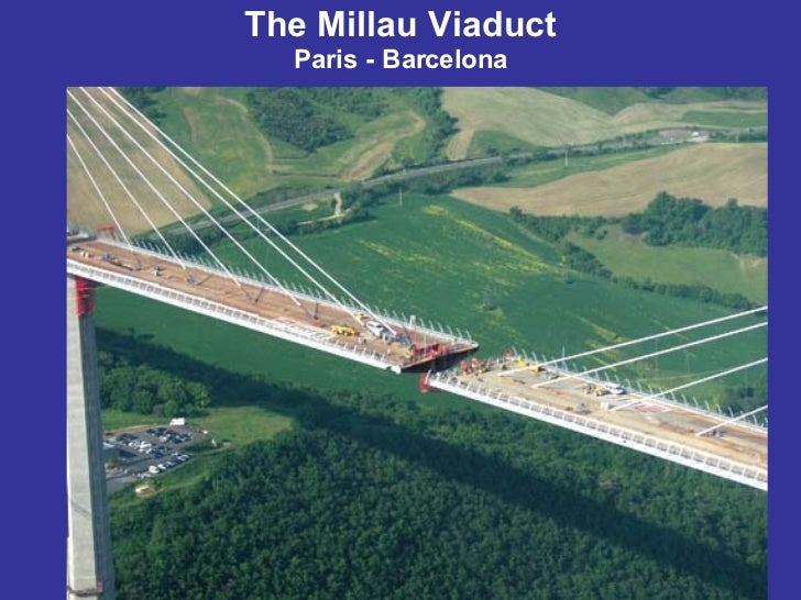 The Millau Viaduct Paris - Barcelona