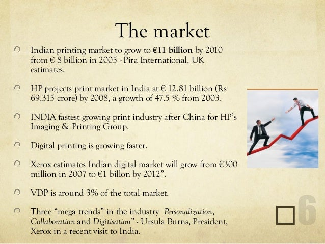 Business plan for printing business