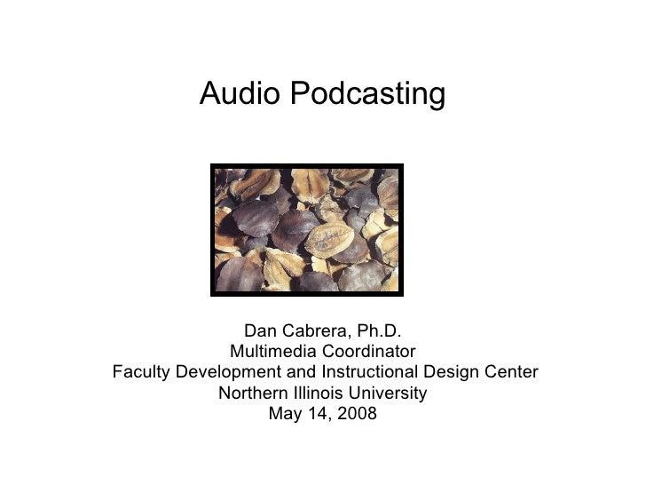 Pod Series Audio10