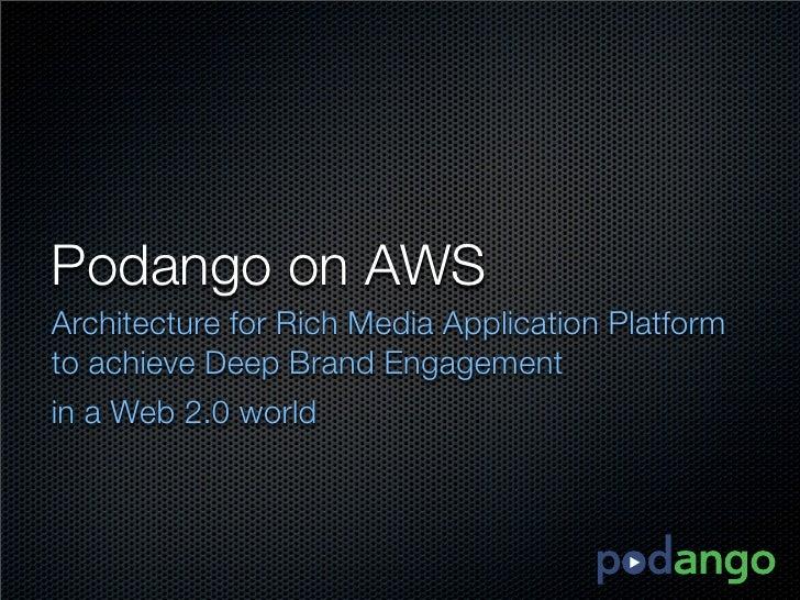 Podango AWS Presentation