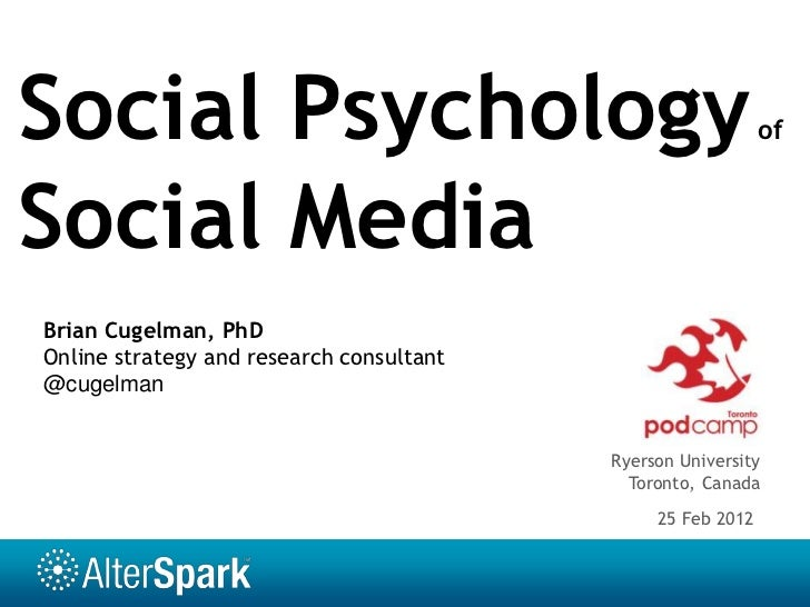 Social networks and how they affect people socially and or phychologically?