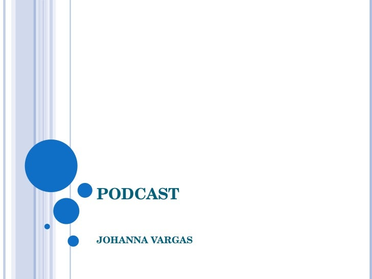 Podcast by Johanna