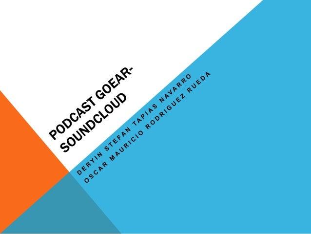 PODCASTUn podcast es un archivo de audiogratuito, que se puede descargar yoír en un ordenador o en unreproductor MP3, como...