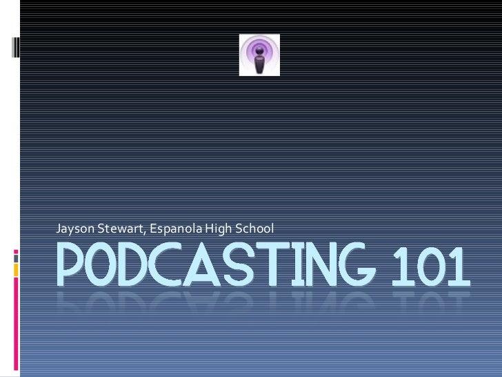 Podcasting Workshop