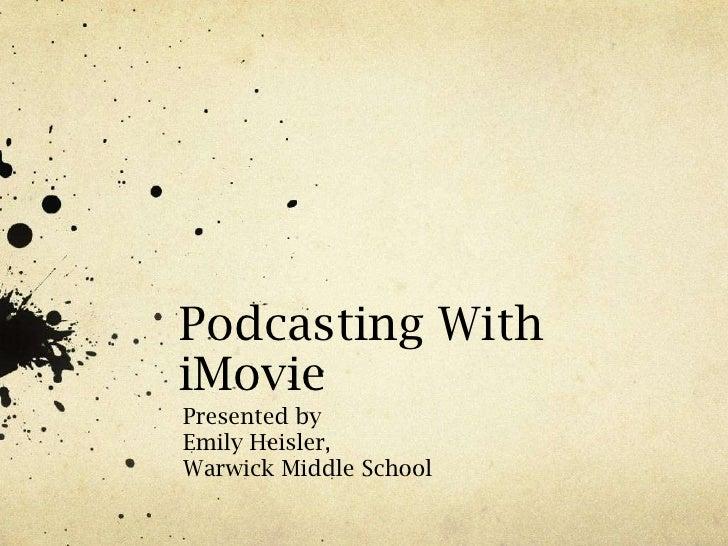 Podcastpresentation