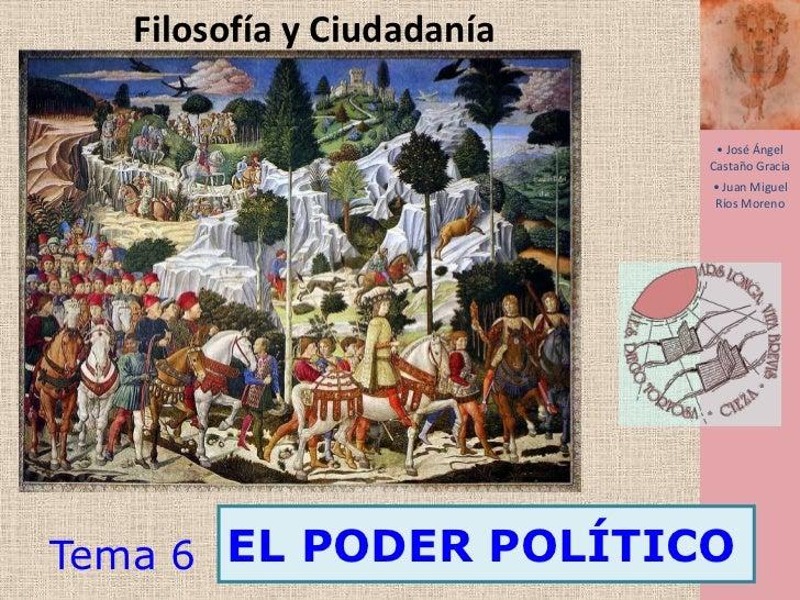Filosofía y Ciudadanía<br /><ul><li> José Ángel Castaño Gracia</li></ul>1<br /><ul><li> Juan Miguel Ríos Moreno</li></ul>E...