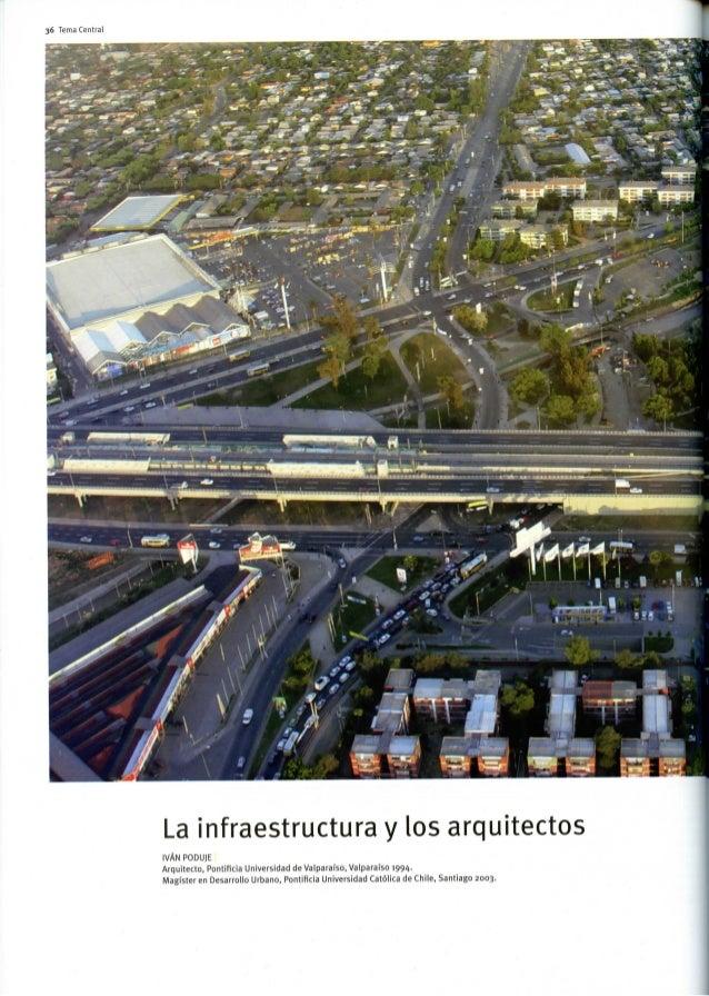 Poduje la infraestructura y los arquitectos