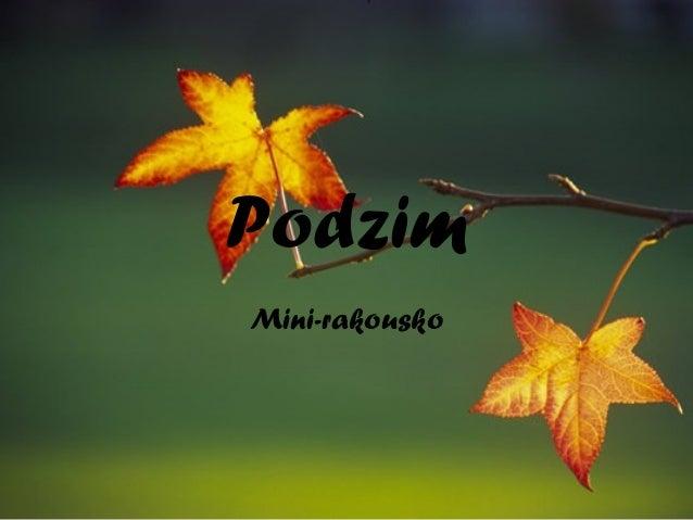 Podzim Mini-rakousko