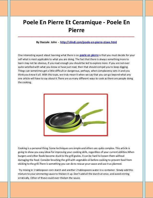 Poele En Pierre Et Ceramique - Poele En                     Pierre________________________________________________________...
