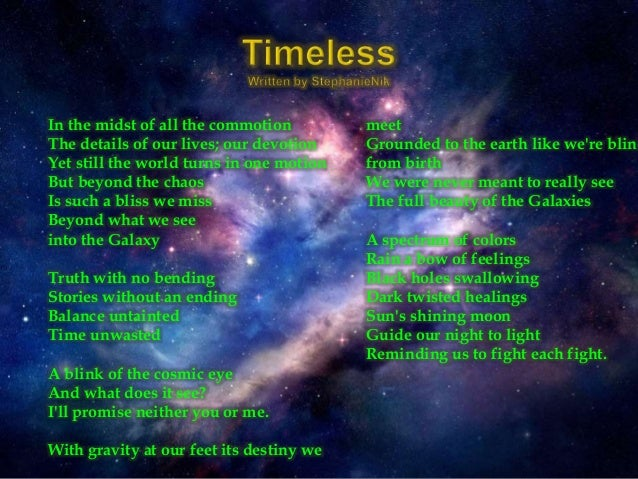 astronomy poems that rhyme - photo #22