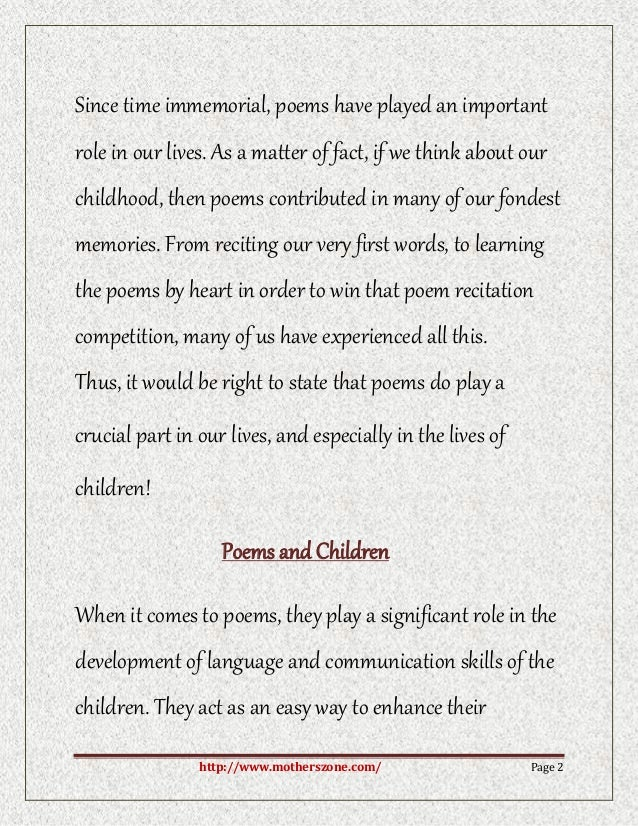 Write my essay on fond memories of childhood