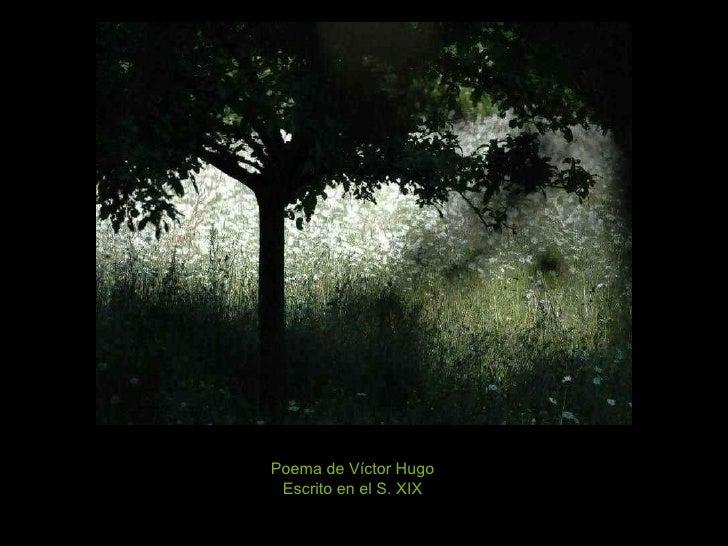 Poema de Víctor Hugo Escrito en el S. XIX