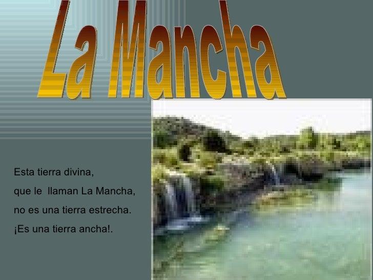 Poema a La Mancha