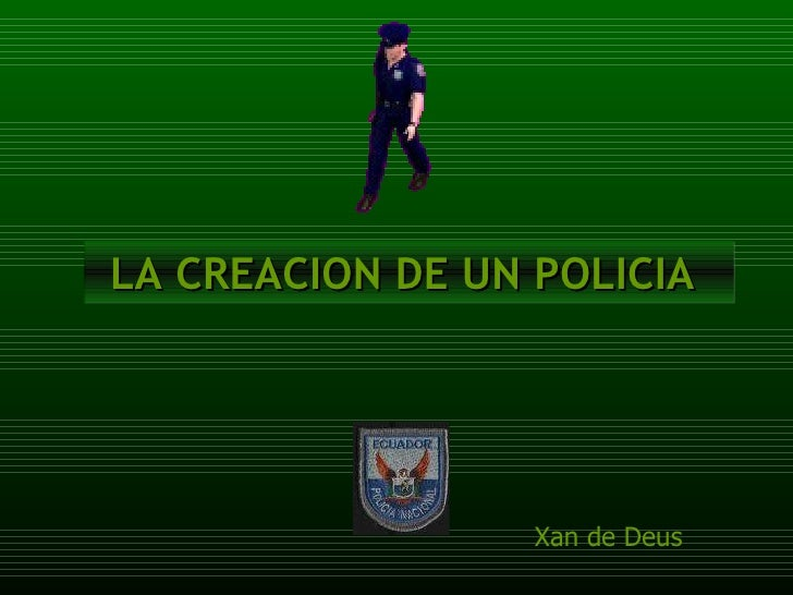 Poema al policia