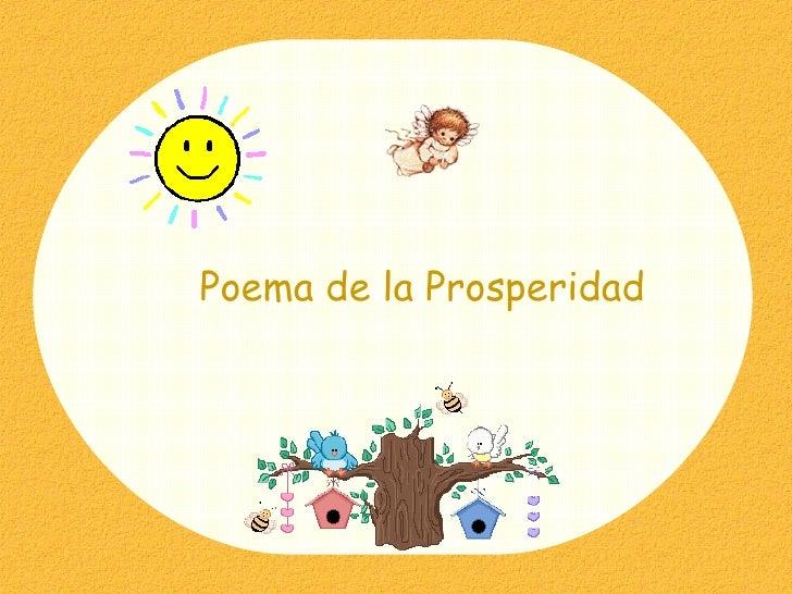 Poema de la Prosperidad