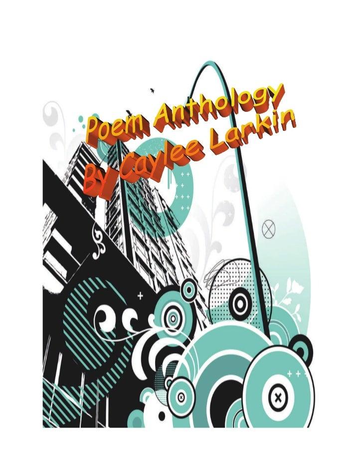 Larkin Poem Anthology