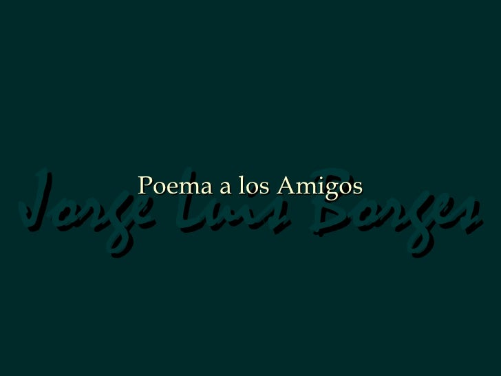 Poemaparalosamigos