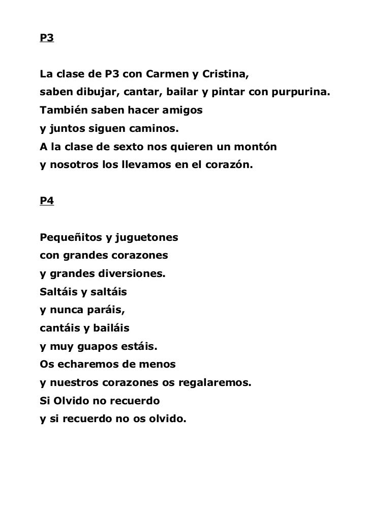 Poemas 6º