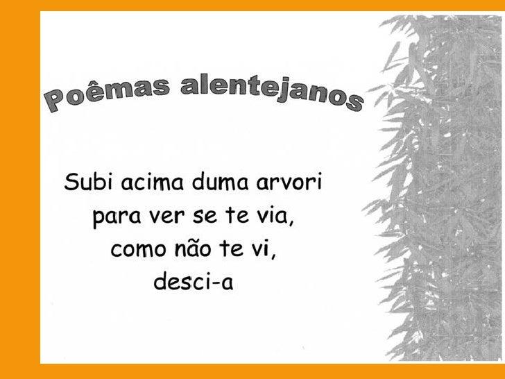 Poemas Alentejanos