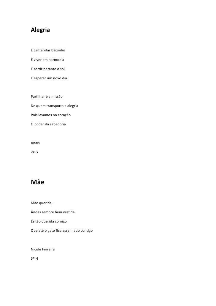 Poemas de Alunos