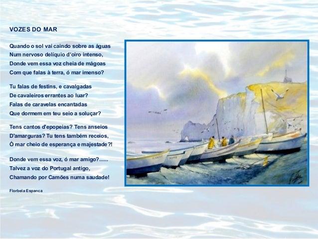 Florbela Espanca vozes do mar