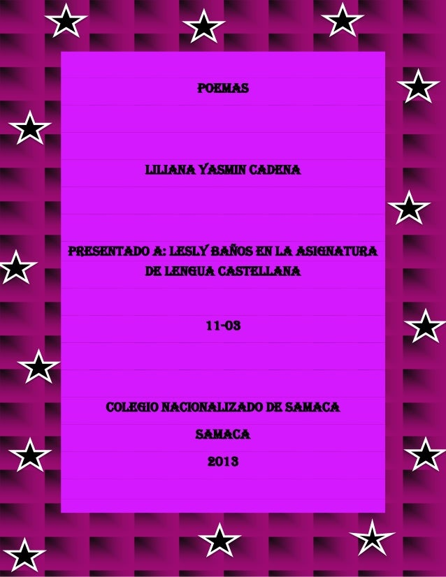 Poemas español