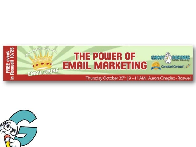 GHOST PARTNER - The Power of Email Marketing