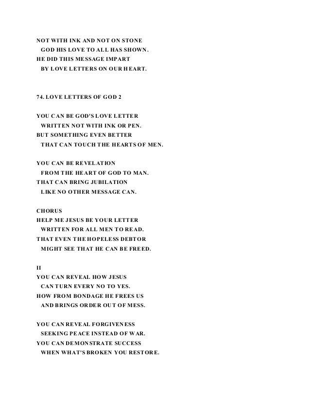 Love Letters To God Lyrics Nahko